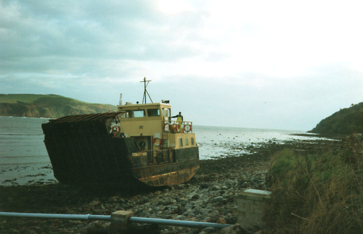 Cromarty Rose on the shore - Oct 1992
