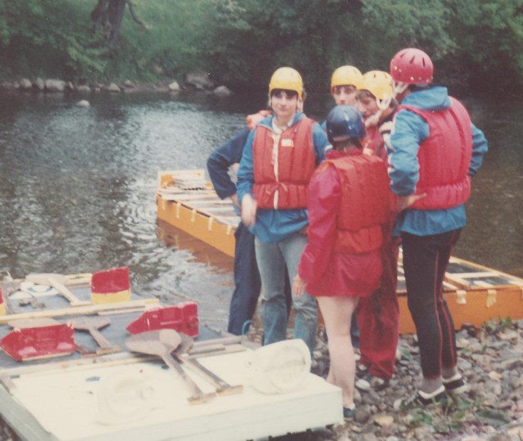 River Conon Raft Race
