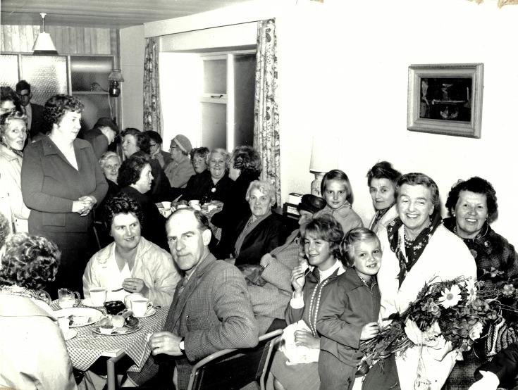 Jane Duncan's housewarming - c1961