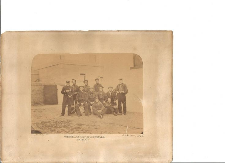 Cromarty Coastguard Crew 1865