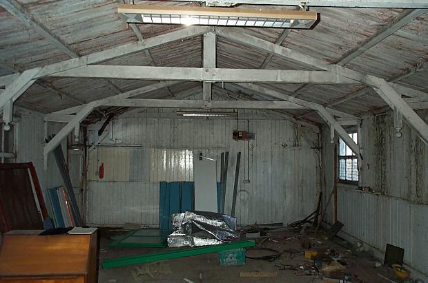 Old Mission Hall - Interior - 2003