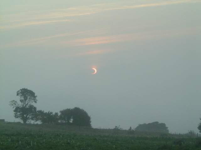 Eclipse from South Sutor - 2003