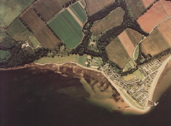 Cromarty from the air - 26th July 1981