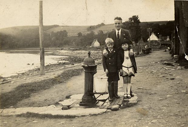 Standpipe on Shore St - c1940