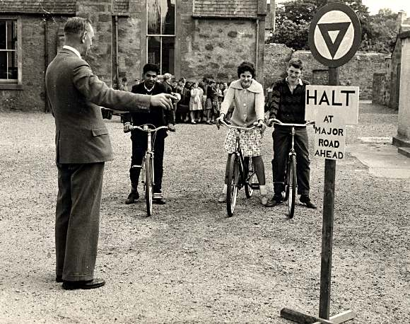 Cycling Proficiency at School - c1960