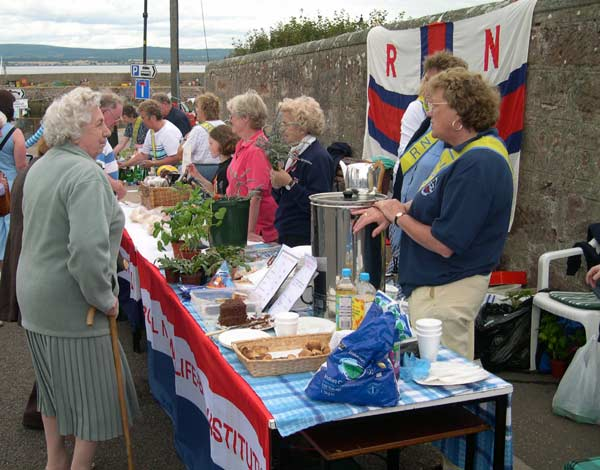 RNLI stand at the 2003 Cromarty Regatta