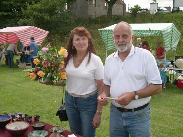Michael & Aliya Royde at the 2003 Cromarty Regata
