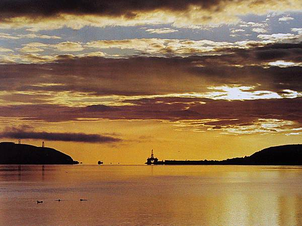 A new day dawning over Cromarty - 2002