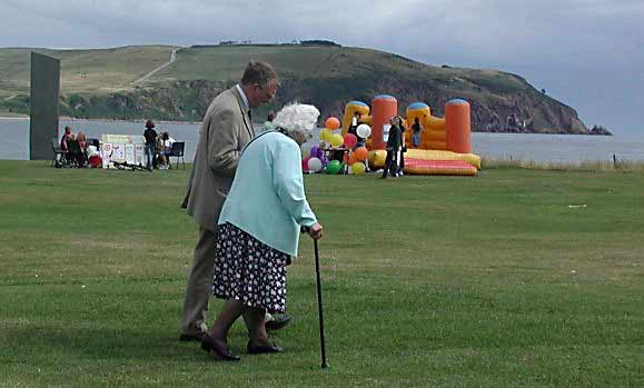 Dr David Alston and Mrs Jean Newell - Regatta 2003