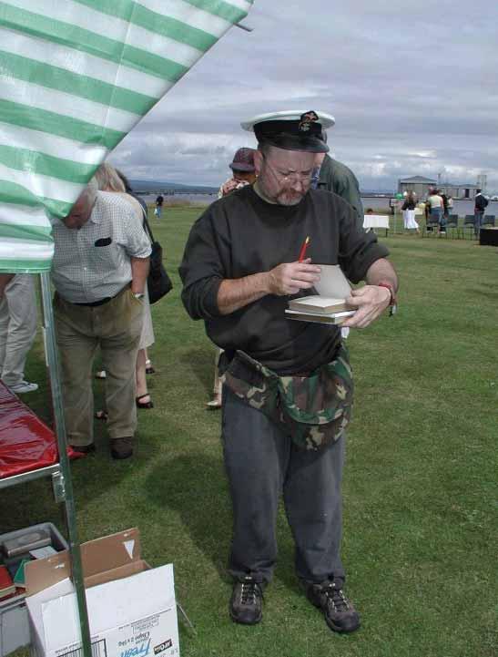 Captain Hill and his Books - Regatta 2003