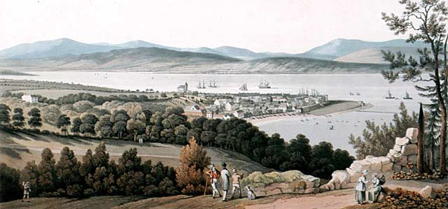 Clarke print of Cromarty