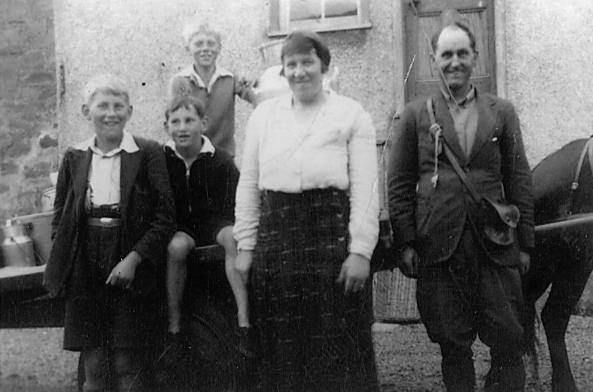 McBean family - farmers in Cromarty - 1937