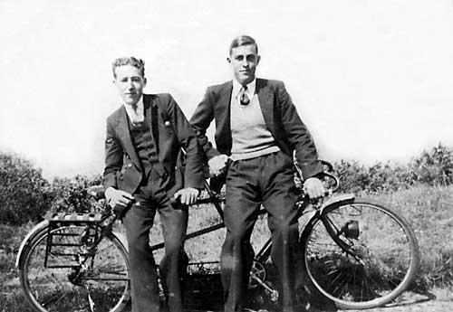 Cyclists - c1930