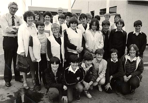 Youth Club Trip to Nigg - c1983