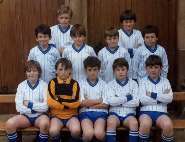 Cromarty Boys Brigade Football Team - c1983