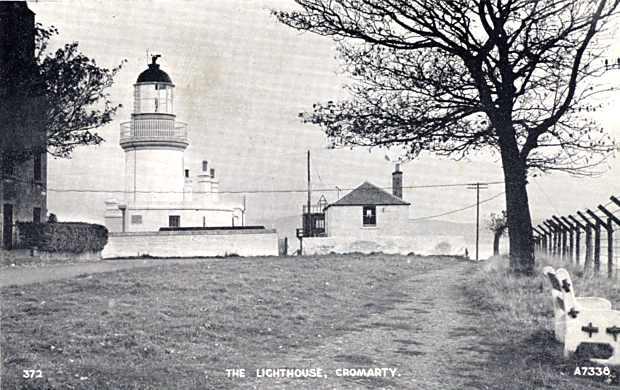 Lighthouse and Coastguard Station - c1945
