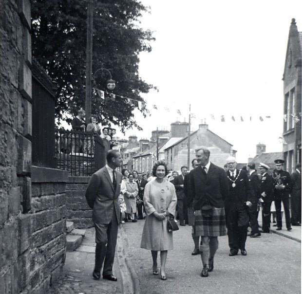 Queen's visit - 1964