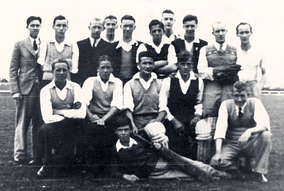 Cromarty Cricket Team - c1938