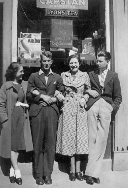 Nancy Skinner & George Eastwood - c1937