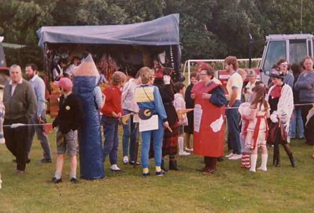 Gala Week Fancy Dress Parade - 1985