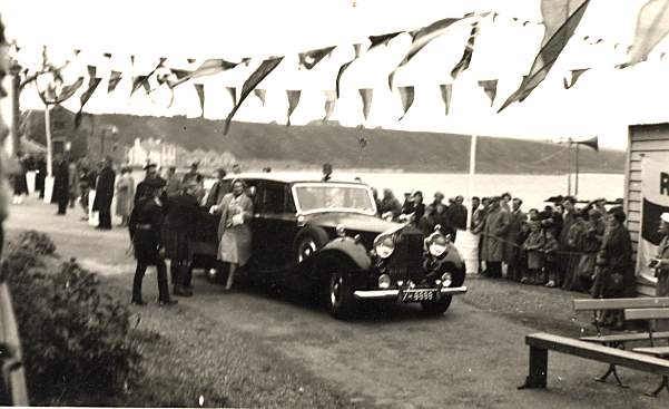 Duchess of Gloucester's Visit - 1956