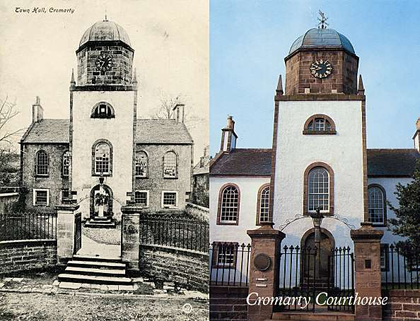 Courthouse Postcards - c1900, c2000