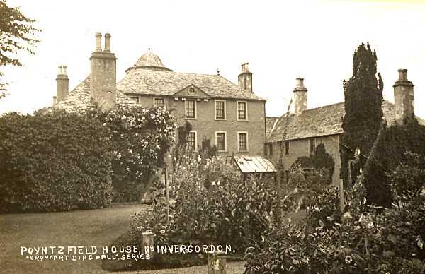 Poyntzfield House - c1906