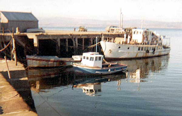Boats in the harbour - c1980