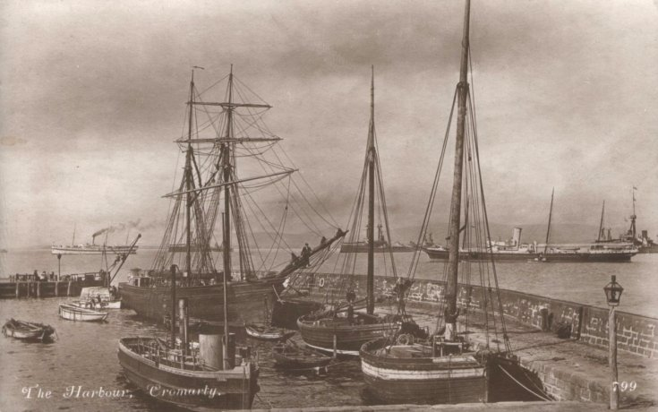 Ships in the harbour - 1902