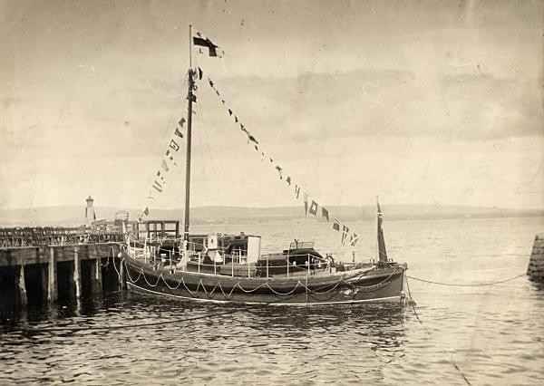 Naming of the RNLB James Macfee - 1931