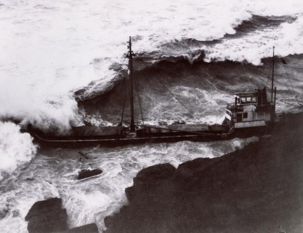 Wreck of the Servus - 1959