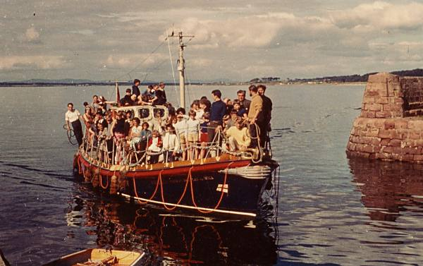 Lifeboat at Regatta - 1960