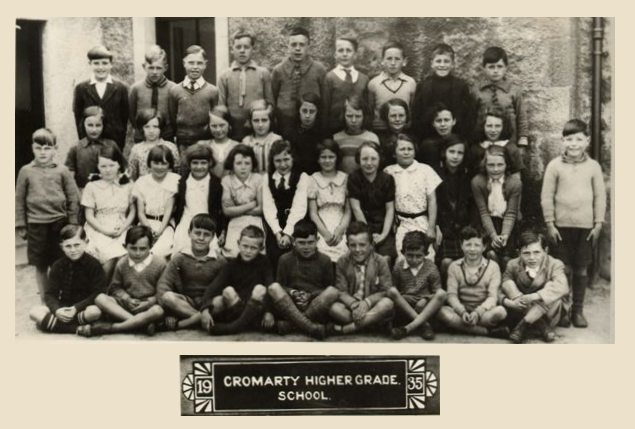 Cromarty Higher Grade School - 1935