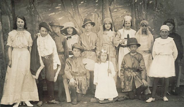 Fancy Dress - c1924