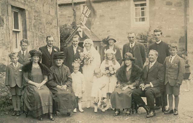 Clark - Taylor Wedding - c1924