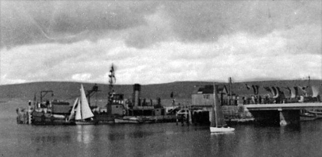 Harbour extension - c1955