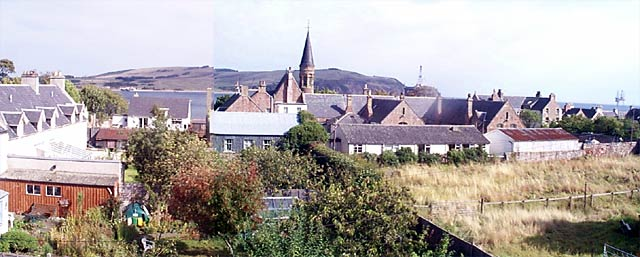 View from Ardyne to School