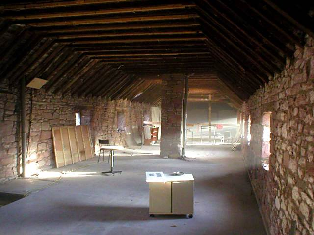 Inside of 'The Byre' - Dec 2003