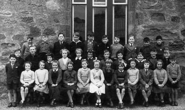 Cromarty Junior Secondary School - 1955