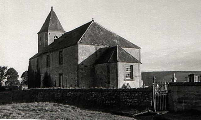 North side of Gaelic Chapel with roof - c1951