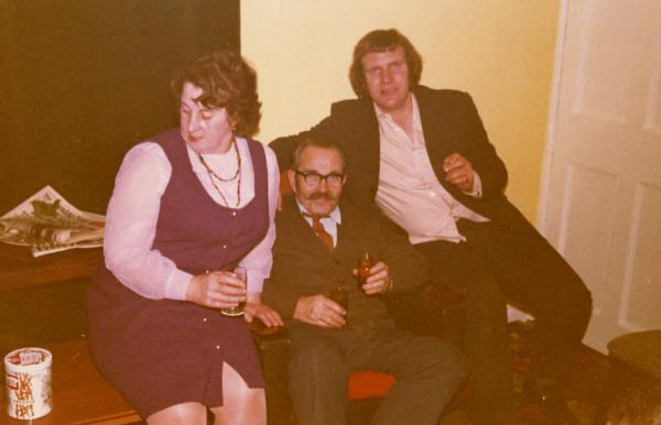 Rosie, Peter and Raymond - c1976