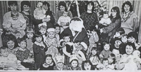 Cromarty Playgroup Christmas Party 1987