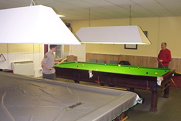 Cromarty Snooker Club - 2003