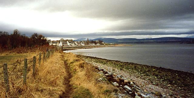 Path along the shore - c1992