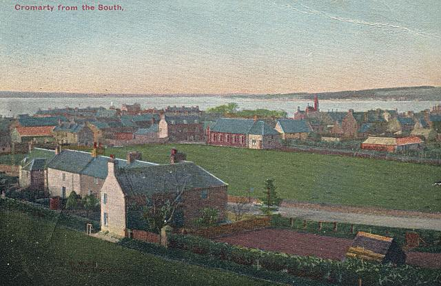Postcard titled 'Cromarty from the South' - c1907