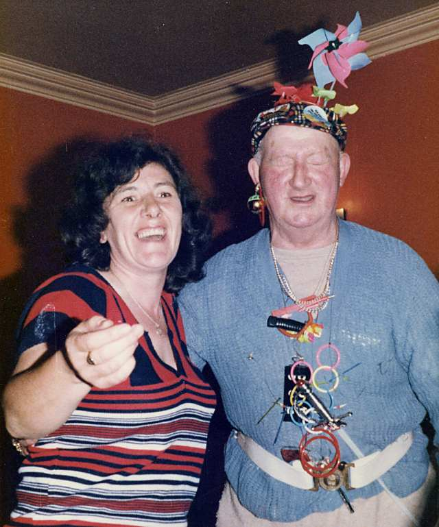 Jean Young and Jimmy Mallaig - c1980