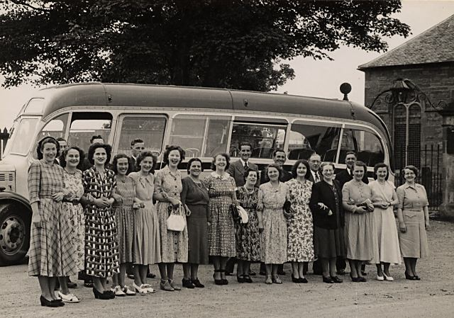Cromarty Choir Outing - 1948