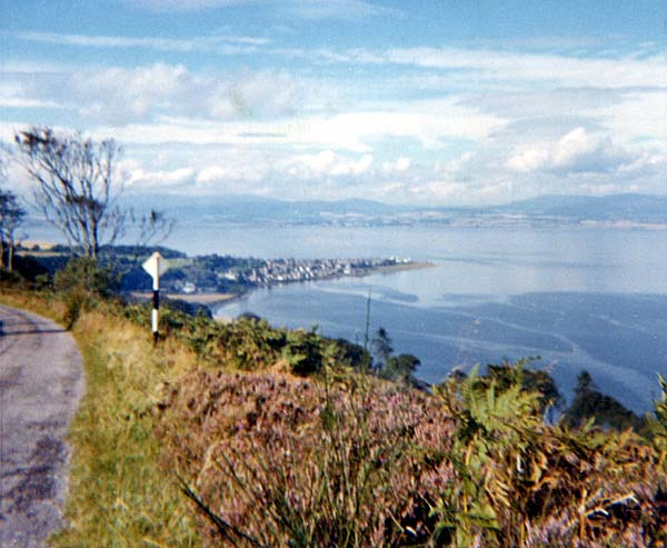 Cromarty Sutor - view to Invergordon
