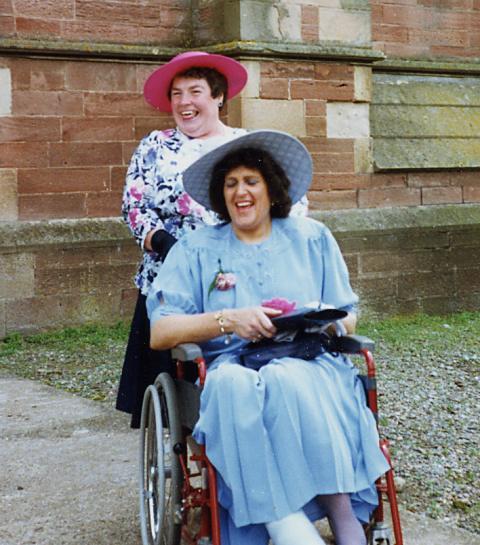 Gladys Shepherd & Alison Watson