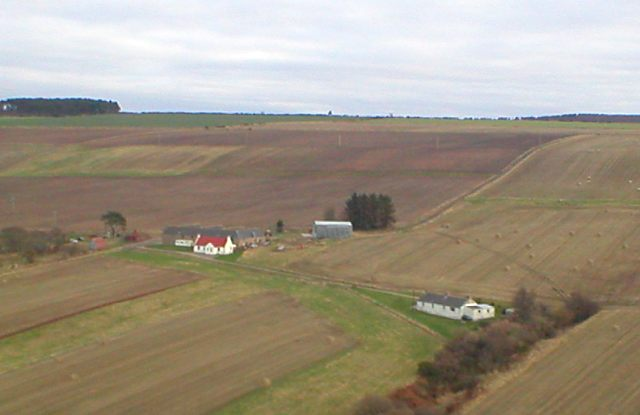 Aerial pic of Allerton Farm - 2004